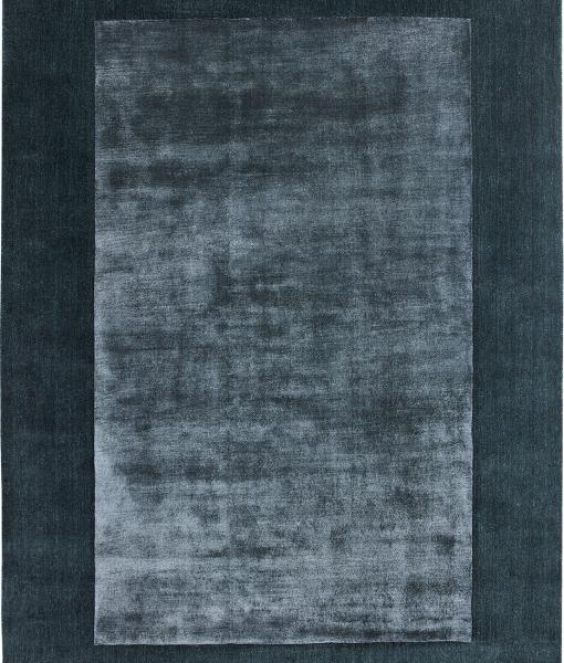 BRIANNE rectangular modern carpet in blue colour