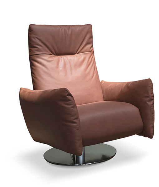 Cloud swivel and motorized relax armchair