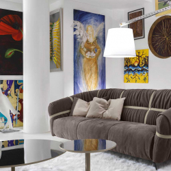 Italian Luxury Sofas And Living Room