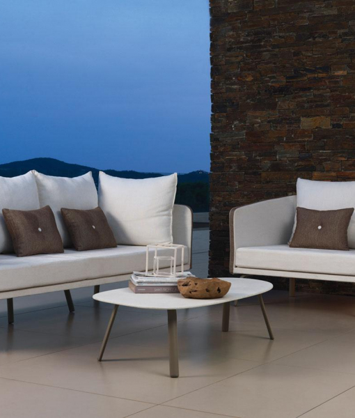Margot divano poltrona tavolino design Marco Acerbis