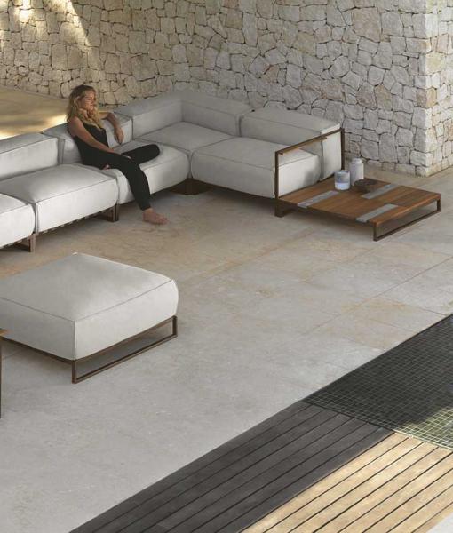 Salotto da giardino completo SantaFe. Design di Ramon Esteve