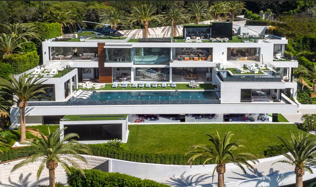 Billionaire Bruce Makowsky 924 Bel Air Road Los Angeles California USA