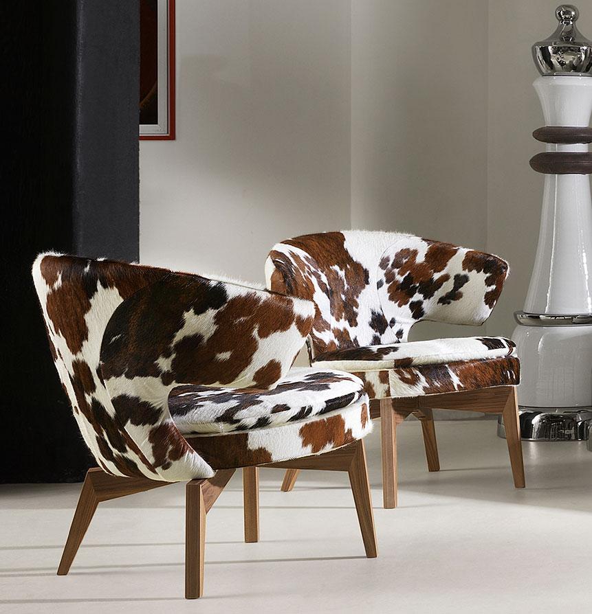 Larissa poltrona in pelle - Italy Dream Design