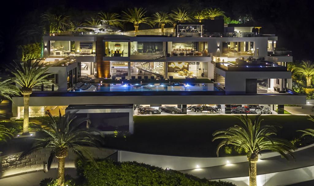 Billionaire Bruce Makowsky 924 Bel Air Road Los Angeles California USA