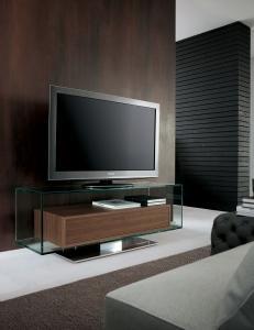 porta tv arredamento casa ufficio on line moderno di lusso 2015 design inspiration web made in italy mobile tv noce vetro mobile basso