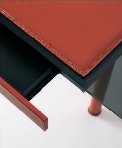 bureau directionnel verre design haut de gamme luxe moderne en ligne mobilier meuble bureau de direction internet site italiens qualité managerial