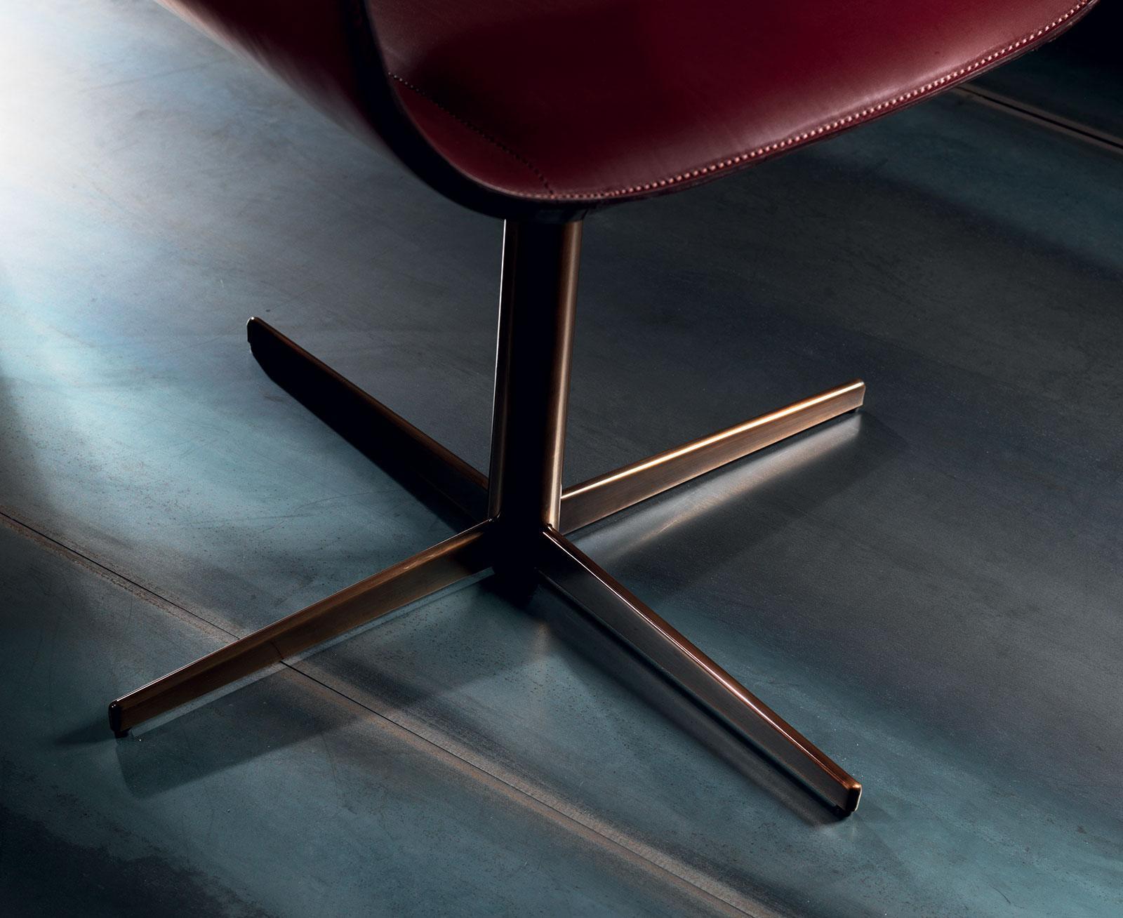 fauteuil cuir bureau gris haut dossier jaune noir original orange pivotant qualité rouge tournant taupe vert ameublement design haut de gamme luxe maison