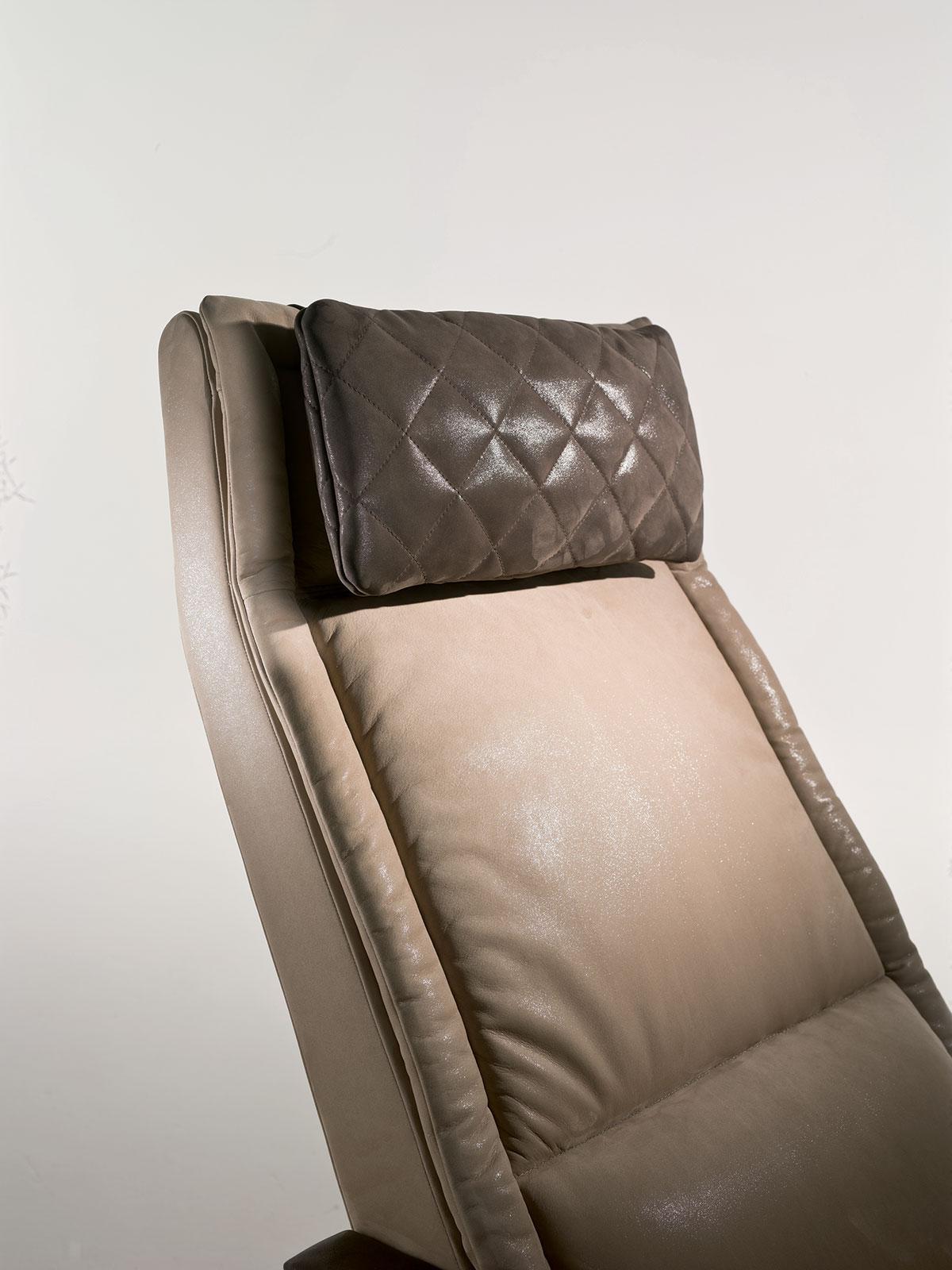chaise longue Matteo Nunziati prezzi design moderno pelle cuoio made in italy arredamento casa ufficio on line moderno dlusso 2017 web