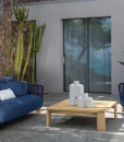 Accoya wood and aluminium are the high-end materials chosen by designer Ludovica & Roberto Palomba for this luxurious outdoor lounge set. Free home delivery