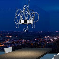 Wall lamps and pendant lamps