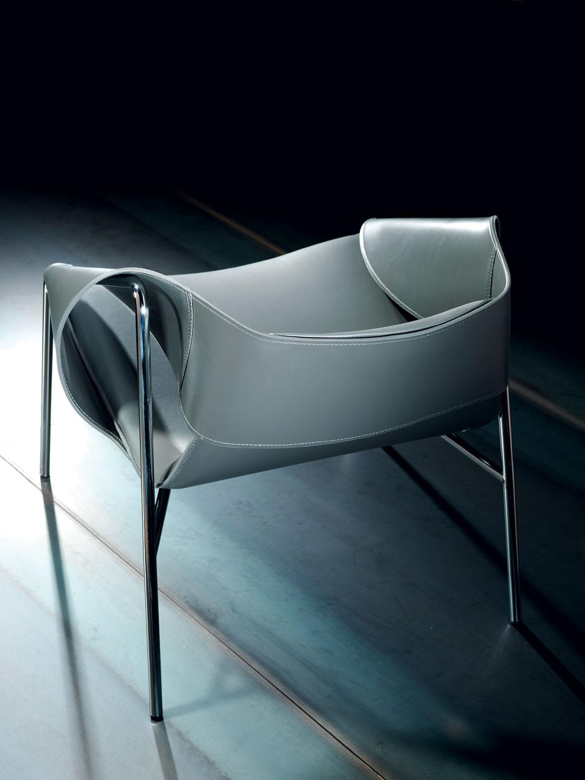poltrona arredamento casa ufficio on line moderno di lusso design web made in italy Asnago girevole bianca gas sedia ufficio prezzo direzionale poltrona