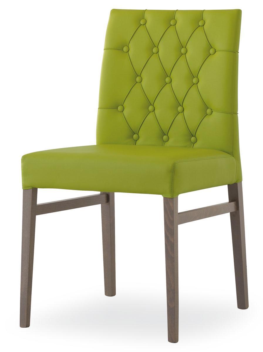 Bloom chaise capitonnée