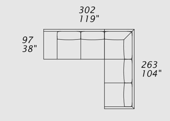 border divano in pelle ad angolo - italy dream design - Soggiorno Ad Angolo Moderno 2