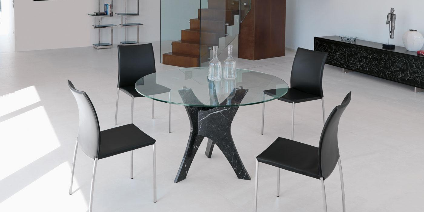 Table de salle manger ronde vente en ligne italy dream design - Table salle a manger ronde design ...