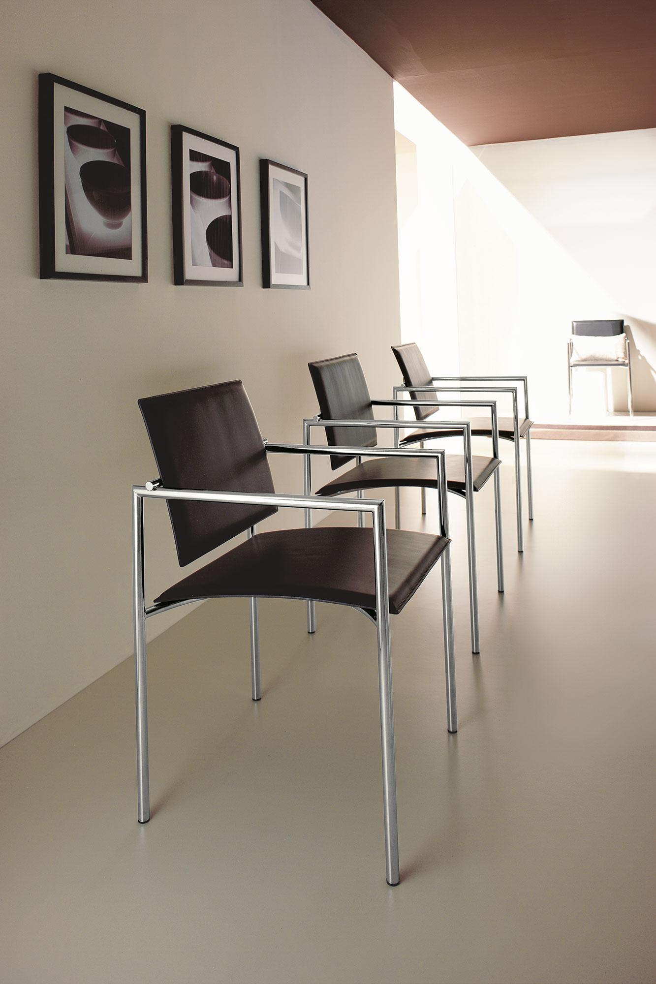 Chiara sedia con braccioli - Italy Dream Design
