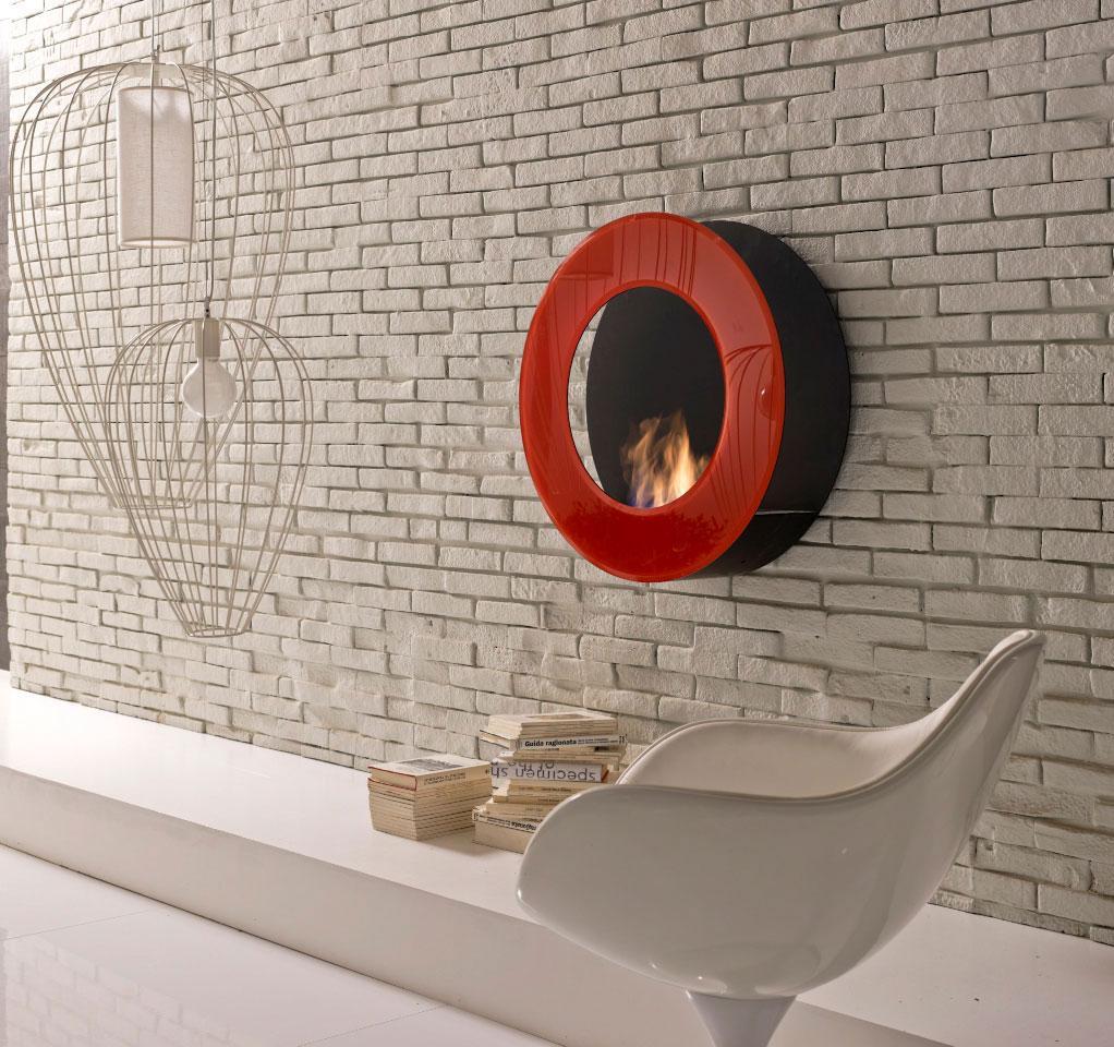 cheminée au bioéthanol ameublement design haut de gamme luxe meubles design contemporains en ligne vente site italiens qualité suspendre poser sans conduit