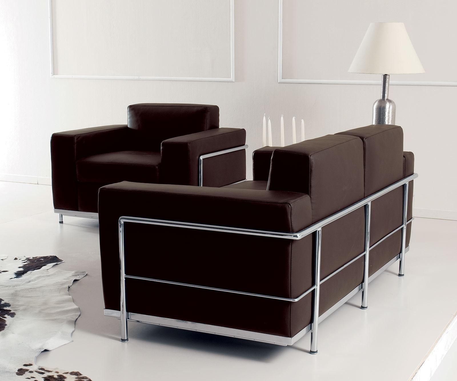 Cook 2 seater modern leather sofa shop online italy for Home element online furniture reviews