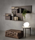 CRUNCH Shelf with open compartments
