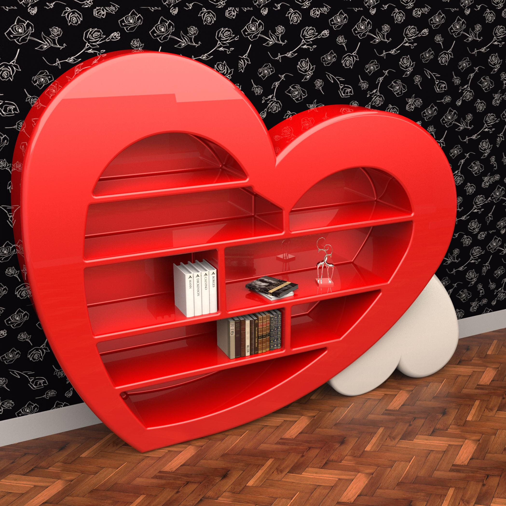 Heart shaped bookcase cupboard cabinet ideas shelves size furniture stores choice design delivery factors sale home house makers manufacturers quality retailers websites