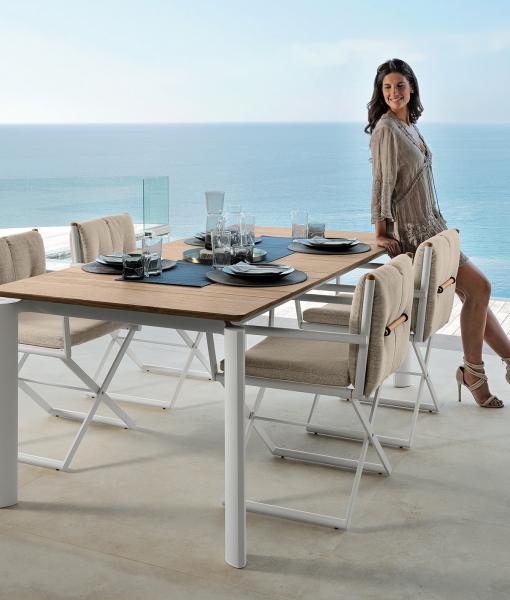 Tavoli Da Cucina Allungabili Firenze.Dominus Tavolo Da Pranzo Da Esterno Allungabile Italy Dream Design