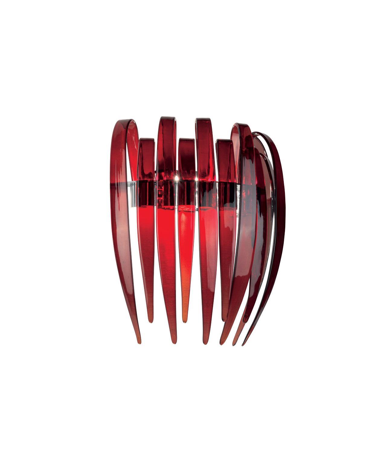 Dracena-P60 lampada da parete in vetro di Murano - Italy Dream Design