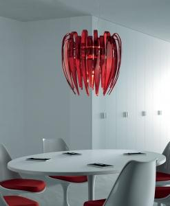luxury Italian pendant light hand blown glass murano made in italy luxury quality