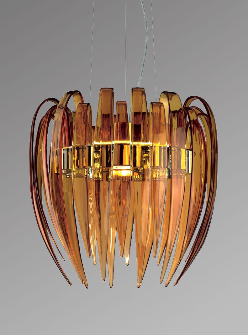 pendant lamp light hand blown glass murano made in italy luxury quality