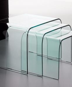 tables basses blanc laqué carrée de salon en verre noire transparente unique trempé meubles design en ligne vente site italiens qualité salon salle à manger