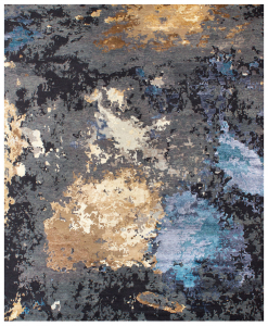 Elite is an awesome rectangular rug in wool and silk showing an abstract pattern and made with top quality materials. Free home delivery.