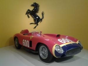 Ferrari 299 MM Manuel Fangio al Museo Ferrari