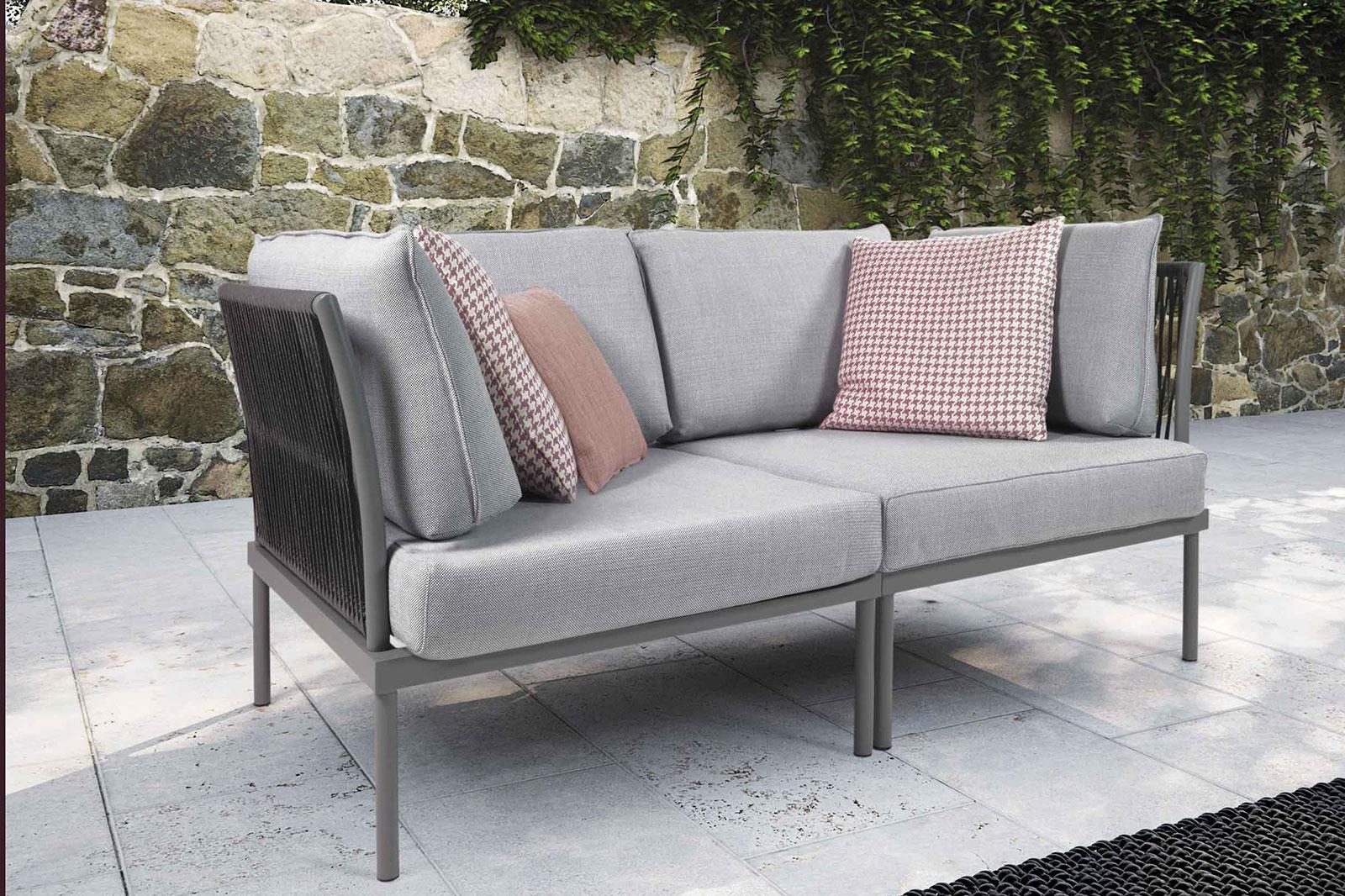 Flare divano 2 posti da esterno vendita online italy dream design - Divano da giardino ...