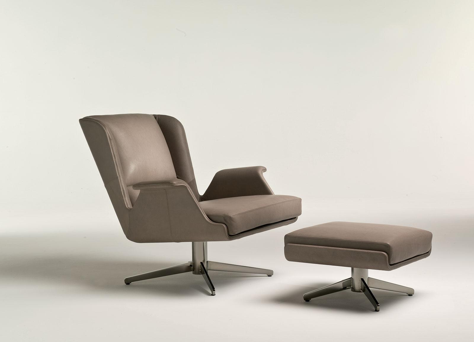 Garbo poltrona relax girevole italy dream design