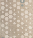 Hexagon is a wool modern rug made with 100% New Zealand wool. Rectangular carpet, Italian design, available for online shopping. Free home delivery.