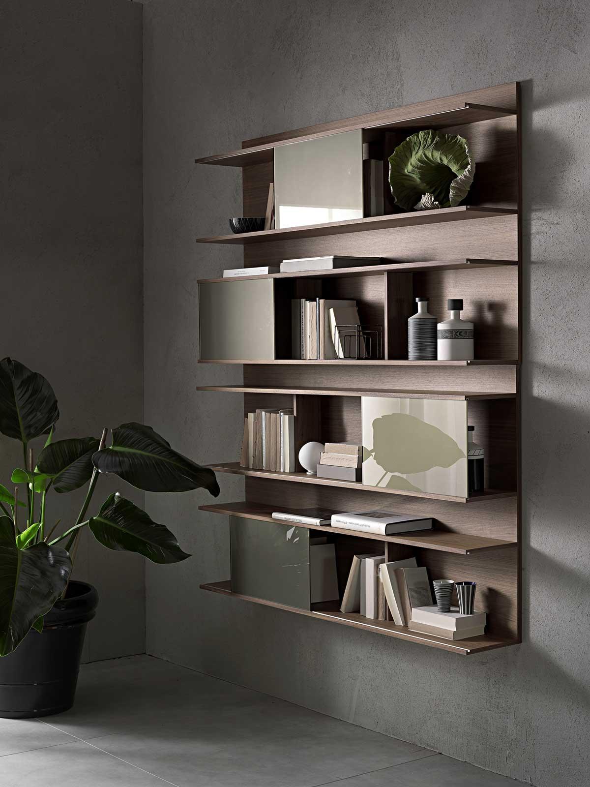 Conosciuto Hugo Libreria da Parete | Vendita Online - Italy Dream Design AG95