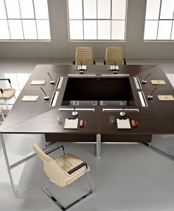 Luxury square meeting table