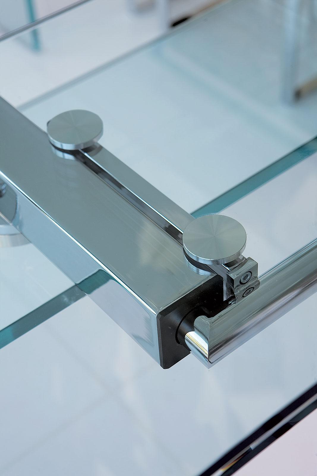 Ghost tavolo allungabile in vetro - Italy Dream Design