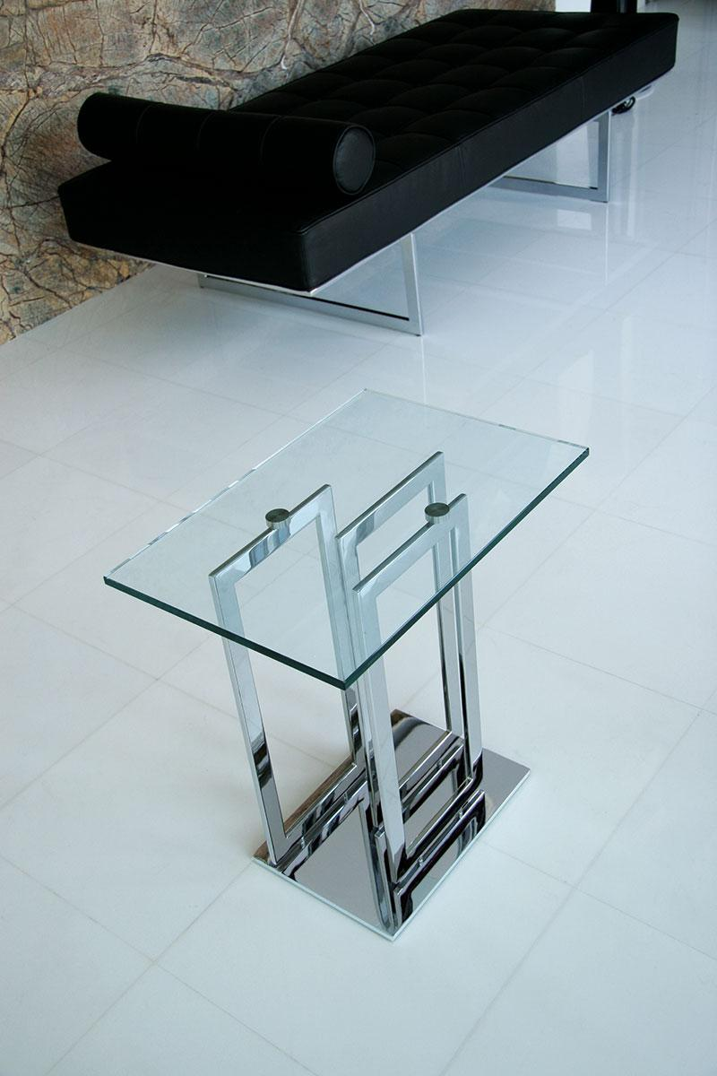 Imperial tavolino di servizio italy dream design for Tavolino salotto moderno vetro design bianco ovale
