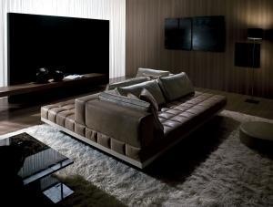 divano Luca Scacchetti misure pelle componibile modulare grande bianco nero marrone posti prezzo casa moderno di lusso 2017 design web made in italy