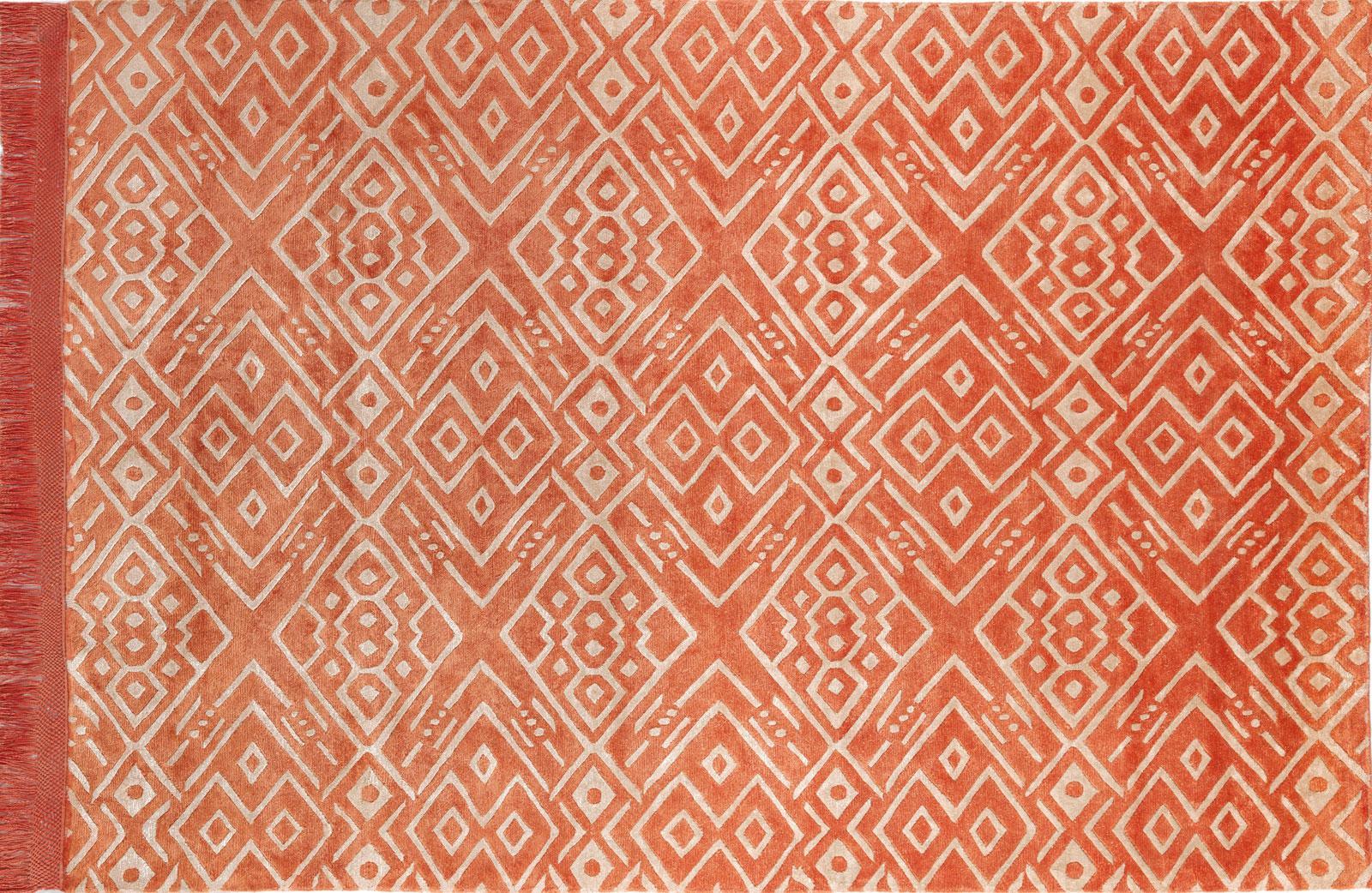 Isabel tapis contemporain idd - Tapis bambou grande taille ...