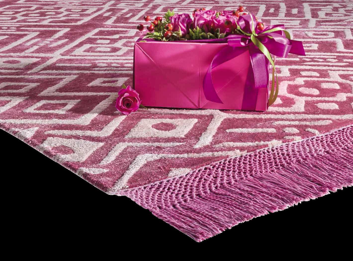 Hippy tapis contemporain achat en ligne italy dream design - Tapis bambou grande taille ...