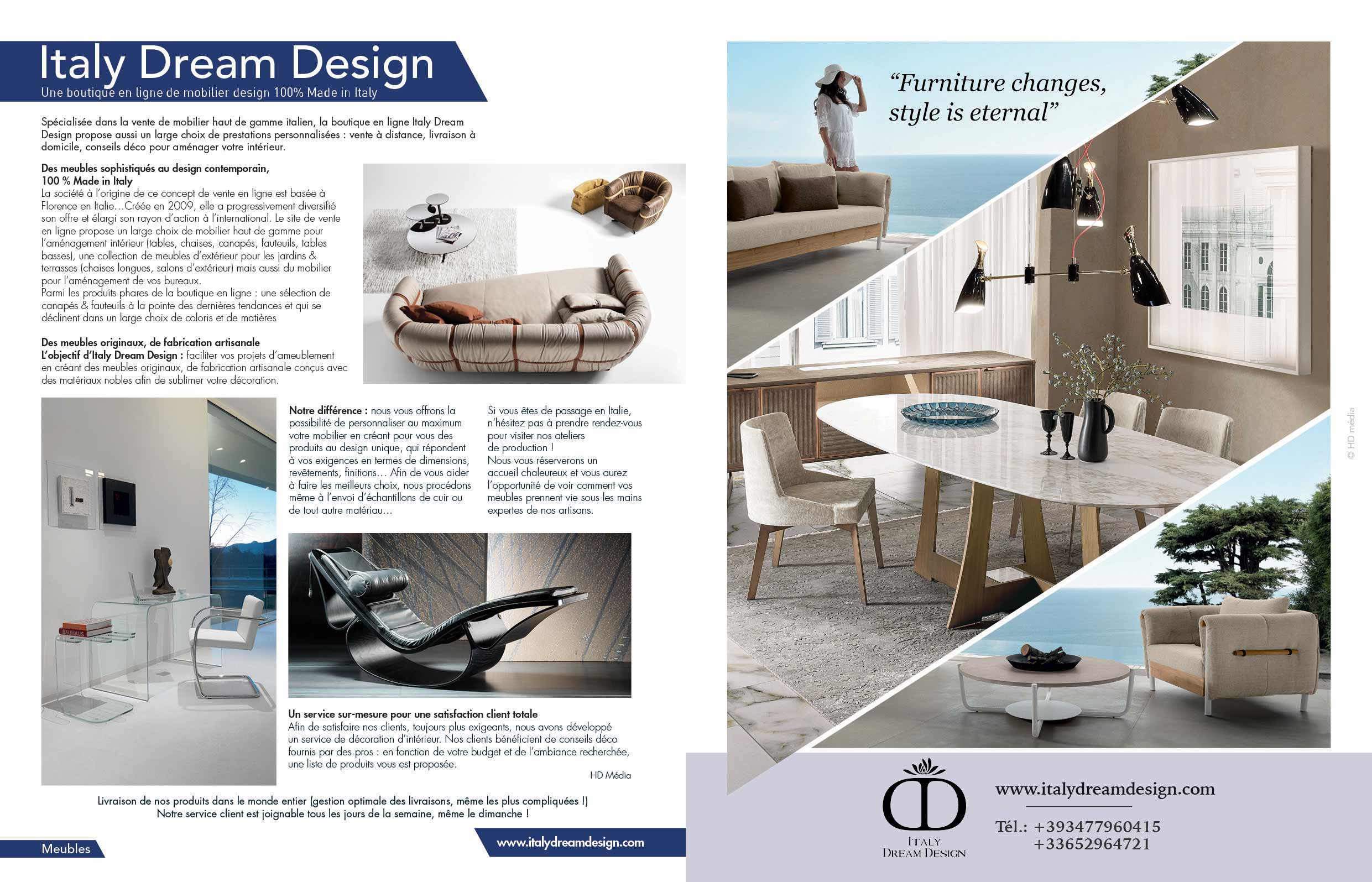 Italy Dream Design Maison Actuelle Octobre Novembre 2019