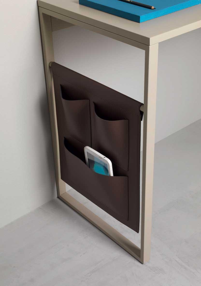 scrittoio casa ufficio on line moderno 2015 design made in italy bianco camera cassetti estraibile noce legno massello laccato prezzi scrivania