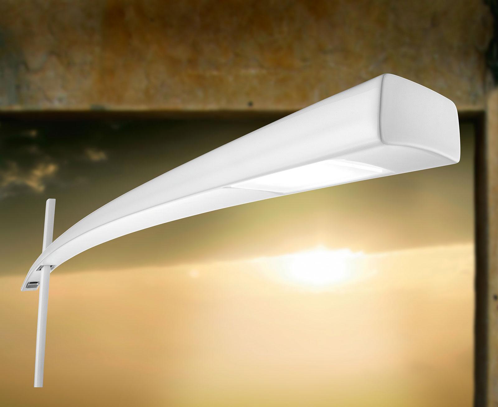 Katana lampada da terra in fibra di carbonio - Italy Dream Design