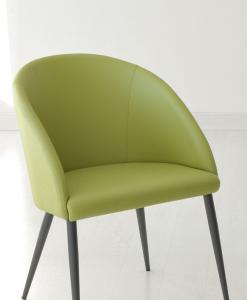 Vaste choix de couleur de cuir pour le revêtement. Un fauteuil rembourré parfait pour maison, bureau ou espaces contract (hotels, bars, restaurants).