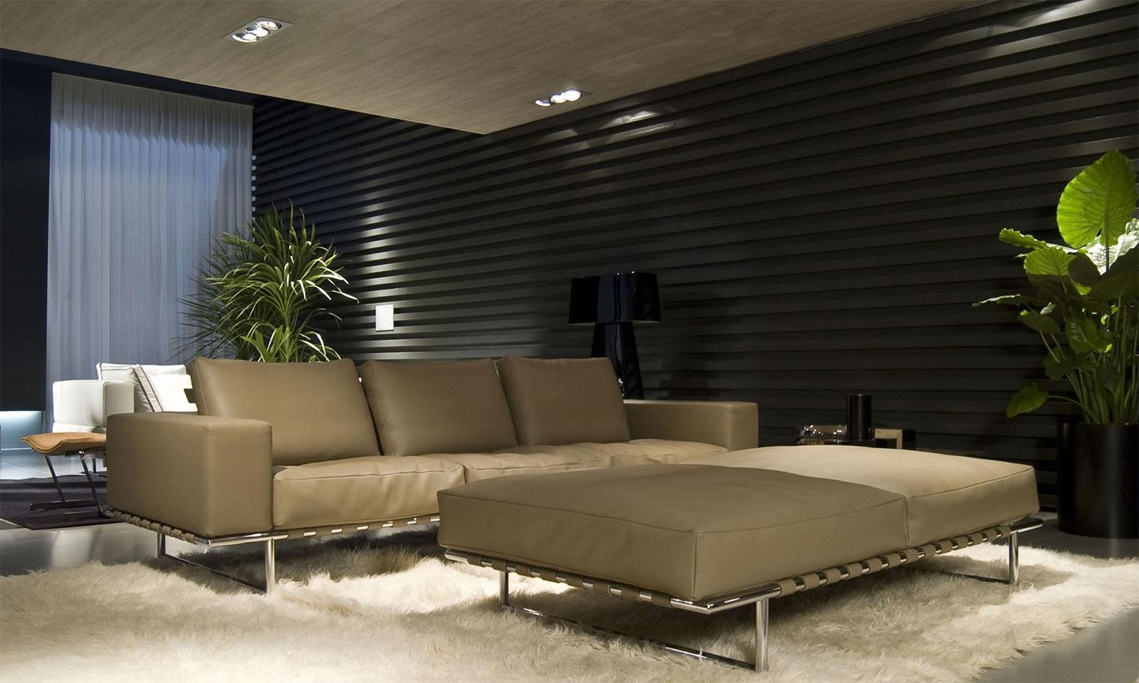 Kristall 270 divano in pelle - Italy Dream Design
