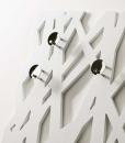 Porte-manteaux mural en forme d'arbre. Vente en ligne de porte-manteaux et meubles design haut de gamme. Artisanalité italienne et livraison gratuite.