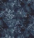 Il tappeto moderno Laguna presenta un aspetto vintage, forma rettangolare e colore blu notte. Consegna a domicilio, trasporto offerto.