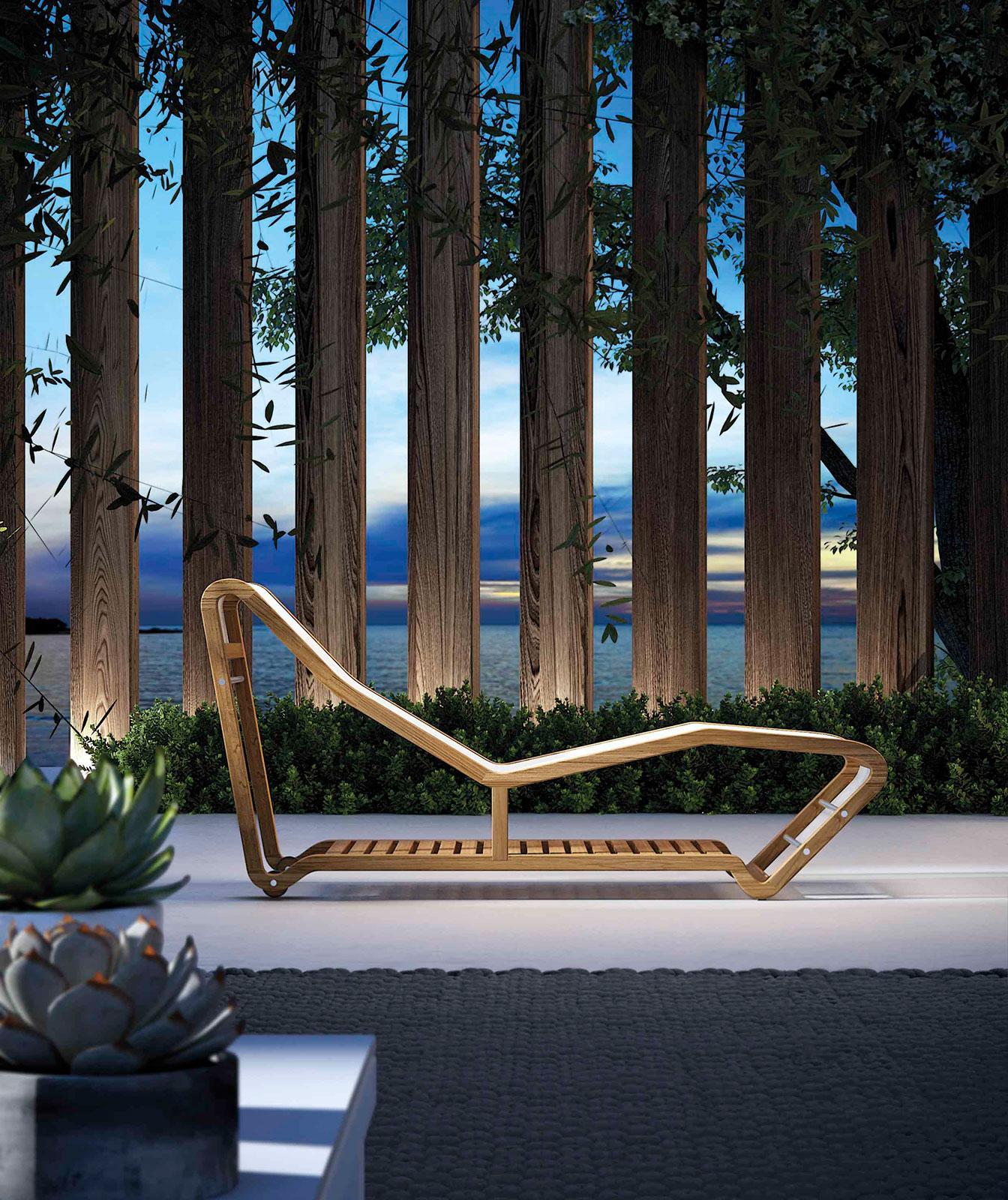 Loop chaise longue da esterno shop online italy dream - Chaise longue da esterno ...