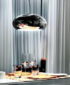 Murano glass pendant lamp light hand blown glass murano made in italy luxury quality