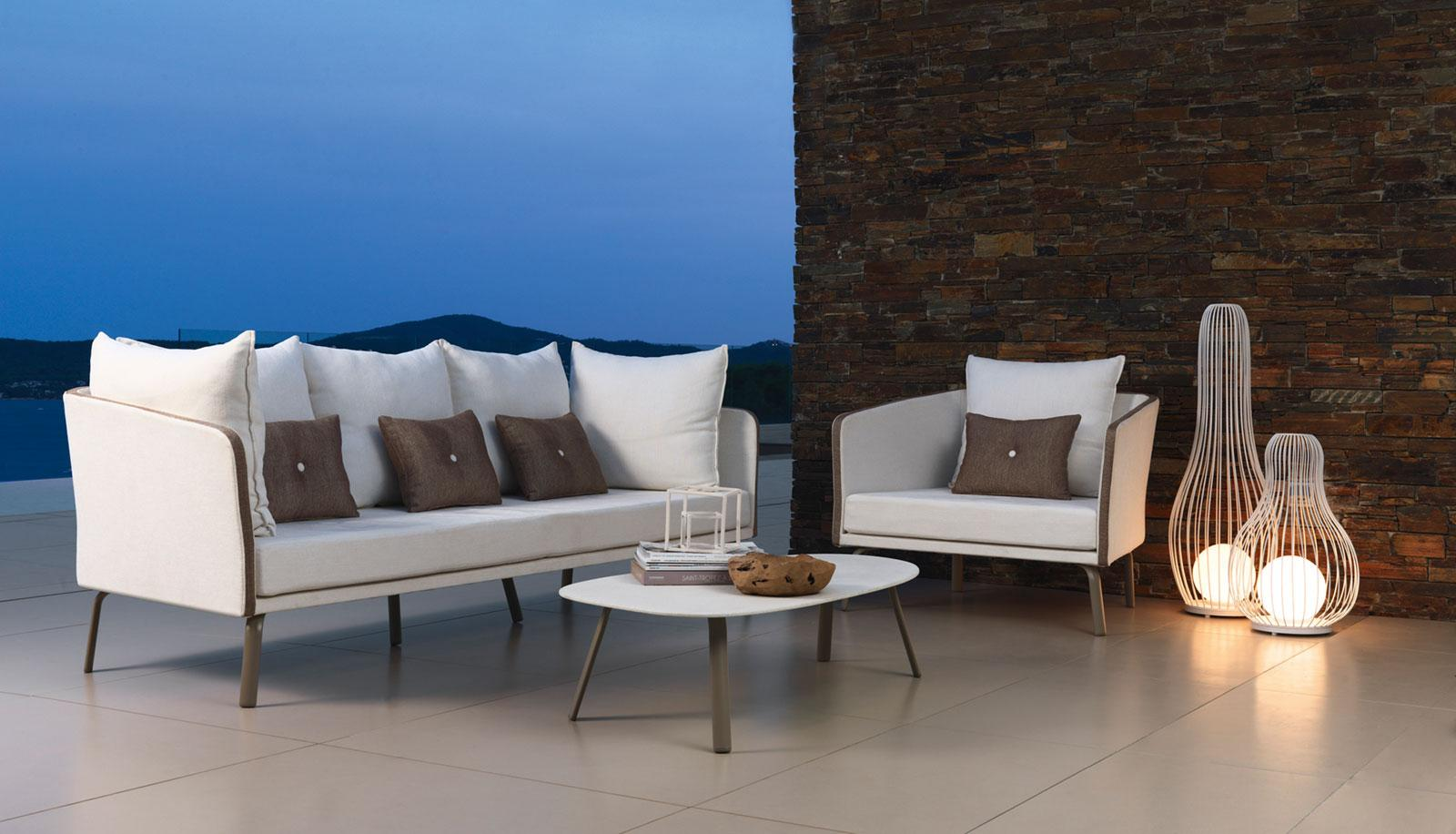 Luxury Outdoor Sofa Chairs Delivery Italia Couch Pool Side Garden Terrace Bar Hotel Furniture